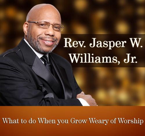 in my study at jasper williams During the early years of jasper williams i was in my early teens when i first heard jasper williams preach and joseph l williams.